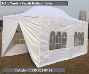 3x4.5 Katlanabilir Stand Çadırı